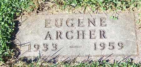 ARCHER, EUGENE - Stark County, Ohio | EUGENE ARCHER - Ohio Gravestone Photos