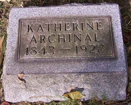 ARCHINAL, KATHERINE - Stark County, Ohio   KATHERINE ARCHINAL - Ohio Gravestone Photos