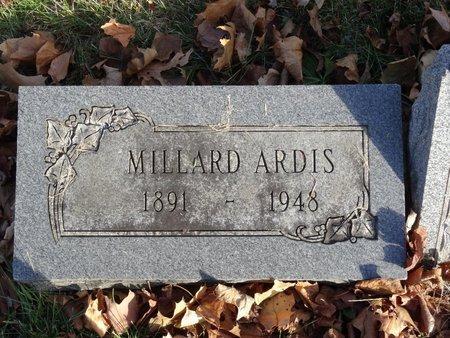 ARDIS, MILLARD - Stark County, Ohio | MILLARD ARDIS - Ohio Gravestone Photos