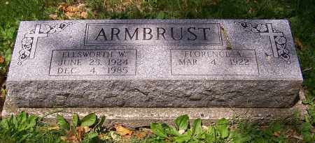 ARMBRUST, ELLSWORTH W. - Stark County, Ohio | ELLSWORTH W. ARMBRUST - Ohio Gravestone Photos