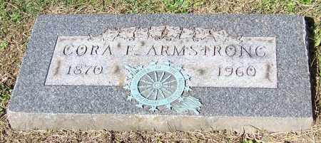 ARMSTRONG, CORA F. - Stark County, Ohio   CORA F. ARMSTRONG - Ohio Gravestone Photos