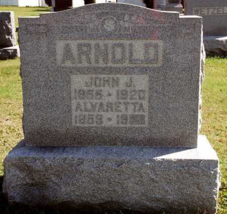 BUNGARD ARNOLD, ALVARETTA - Stark County, Ohio | ALVARETTA BUNGARD ARNOLD - Ohio Gravestone Photos