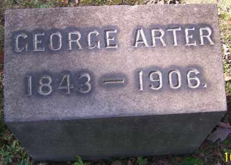 ARTER, GEORGE - Stark County, Ohio | GEORGE ARTER - Ohio Gravestone Photos