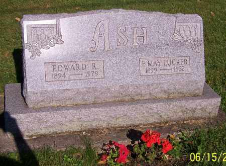 ASH, EDWARD R. - Stark County, Ohio | EDWARD R. ASH - Ohio Gravestone Photos