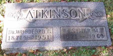 ATKINSON, DR. WOODFORD G. - Stark County, Ohio | DR. WOODFORD G. ATKINSON - Ohio Gravestone Photos