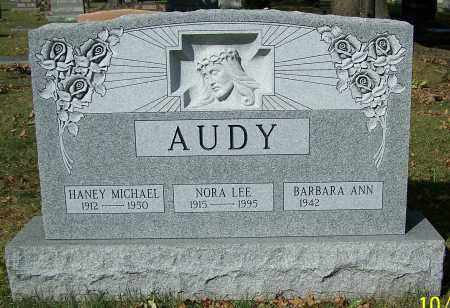 AUDY, BARBARA ANN - Stark County, Ohio | BARBARA ANN AUDY - Ohio Gravestone Photos
