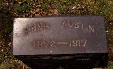 AUSTIN, ANNA - Stark County, Ohio | ANNA AUSTIN - Ohio Gravestone Photos