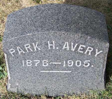 AVERY, PARK H. - Stark County, Ohio | PARK H. AVERY - Ohio Gravestone Photos