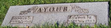 AYOUB, GEORGE S. - Stark County, Ohio | GEORGE S. AYOUB - Ohio Gravestone Photos