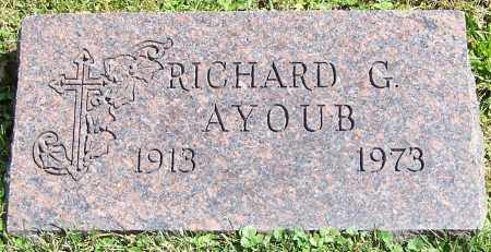 AYOUB, RICHARD G. - Stark County, Ohio | RICHARD G. AYOUB - Ohio Gravestone Photos