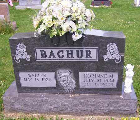 BACHUR, CORINNE M. - Stark County, Ohio | CORINNE M. BACHUR - Ohio Gravestone Photos