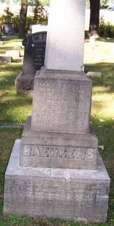 BAEHRENS, MARIA R. - Stark County, Ohio | MARIA R. BAEHRENS - Ohio Gravestone Photos
