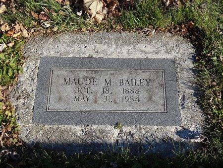 BAILEY, MAUDE M. - Stark County, Ohio   MAUDE M. BAILEY - Ohio Gravestone Photos