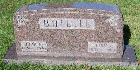 BAILLIE, JOHN R. - Stark County, Ohio | JOHN R. BAILLIE - Ohio Gravestone Photos