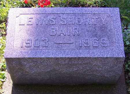 BAIR, LEWIS SHORTY - Stark County, Ohio | LEWIS SHORTY BAIR - Ohio Gravestone Photos