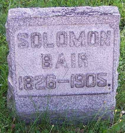 BAIR, SOLOMON - Stark County, Ohio | SOLOMON BAIR - Ohio Gravestone Photos