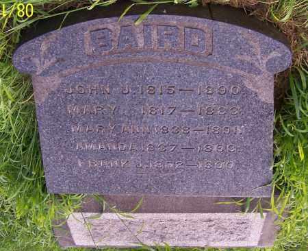 BAIRD, JOHN J. - Stark County, Ohio | JOHN J. BAIRD - Ohio Gravestone Photos