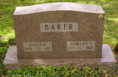 BAKER, HOWARD F. - Stark County, Ohio | HOWARD F. BAKER - Ohio Gravestone Photos