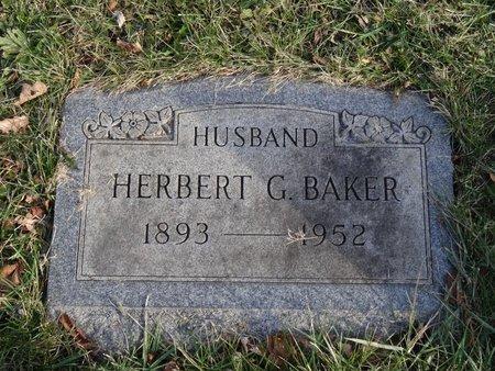 BAKER, HERBERT G. - Stark County, Ohio | HERBERT G. BAKER - Ohio Gravestone Photos