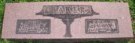 BAKER, JOSEPH F. - Stark County, Ohio   JOSEPH F. BAKER - Ohio Gravestone Photos