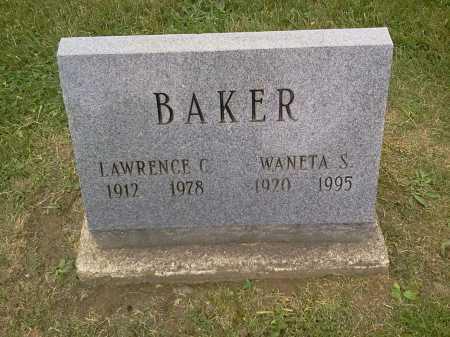 BAKER, LAWRENCE C. - Stark County, Ohio | LAWRENCE C. BAKER - Ohio Gravestone Photos