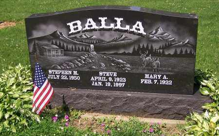 BALLA, STEPHEN M. - Stark County, Ohio | STEPHEN M. BALLA - Ohio Gravestone Photos