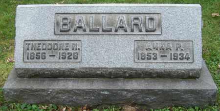 BALLARD, ANNA P. - Stark County, Ohio | ANNA P. BALLARD - Ohio Gravestone Photos