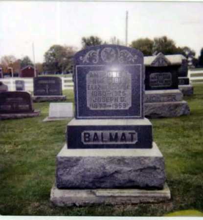 BALMAT, ELIZABETH M. - Stark County, Ohio | ELIZABETH M. BALMAT - Ohio Gravestone Photos