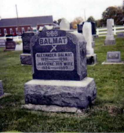 BALMAT, JOACHINIE - Stark County, Ohio   JOACHINIE BALMAT - Ohio Gravestone Photos