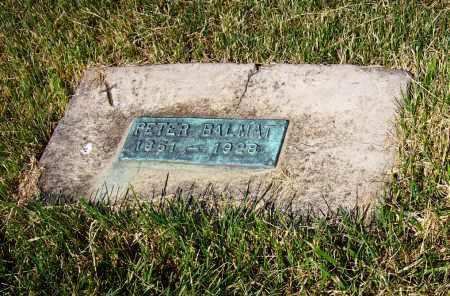 BALMAT, PETER - Stark County, Ohio | PETER BALMAT - Ohio Gravestone Photos