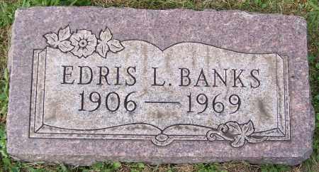 BANKS, EDRIS L. - Stark County, Ohio   EDRIS L. BANKS - Ohio Gravestone Photos