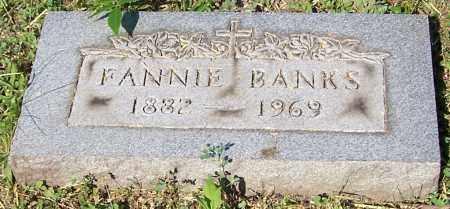 BANKS, FANNIE - Stark County, Ohio | FANNIE BANKS - Ohio Gravestone Photos