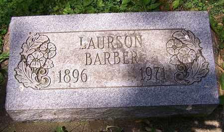 BARBER, LAURSON - Stark County, Ohio | LAURSON BARBER - Ohio Gravestone Photos