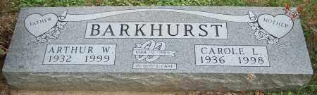 BARKHURST, ARTHUR W. - Stark County, Ohio | ARTHUR W. BARKHURST - Ohio Gravestone Photos