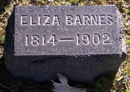 BARNES, ELIZA - Stark County, Ohio | ELIZA BARNES - Ohio Gravestone Photos