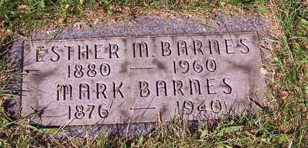 BARNES, ESTHER M. - Stark County, Ohio | ESTHER M. BARNES - Ohio Gravestone Photos