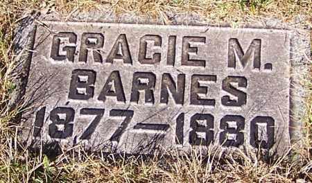 BARNES, GRACIE M. - Stark County, Ohio | GRACIE M. BARNES - Ohio Gravestone Photos