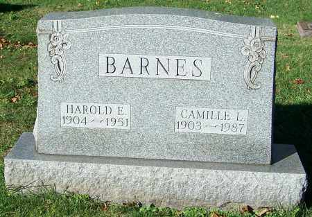 BARNES, HAROLD E. - Stark County, Ohio | HAROLD E. BARNES - Ohio Gravestone Photos