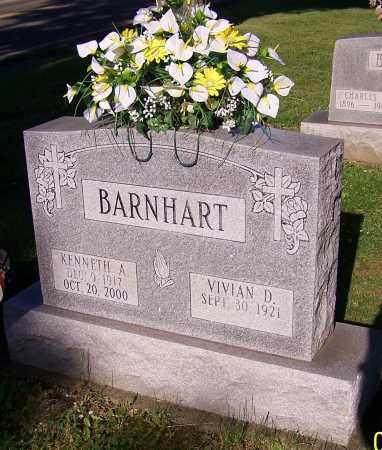 BARNHART, VIVIAN D. - Stark County, Ohio | VIVIAN D. BARNHART - Ohio Gravestone Photos