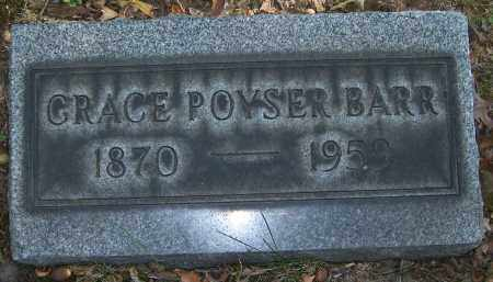 BARR, GRACE POYSER - Stark County, Ohio | GRACE POYSER BARR - Ohio Gravestone Photos