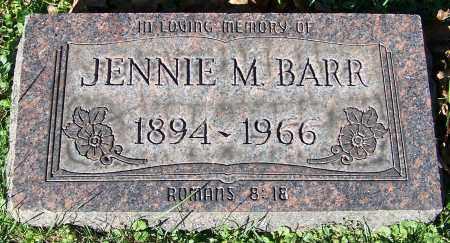 BARR, JENNIE M. - Stark County, Ohio | JENNIE M. BARR - Ohio Gravestone Photos