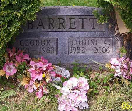 BARRETT, LOUISE A. - Stark County, Ohio | LOUISE A. BARRETT - Ohio Gravestone Photos