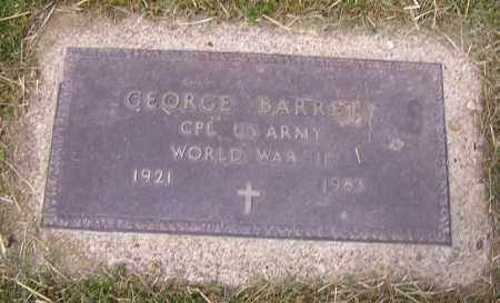 BARRETT, GEORGE - Stark County, Ohio | GEORGE BARRETT - Ohio Gravestone Photos