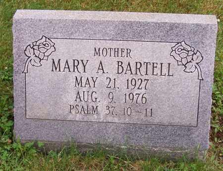 BARTELL, MARY A. - Stark County, Ohio | MARY A. BARTELL - Ohio Gravestone Photos