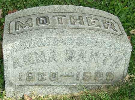 BARTH, ANNA - Stark County, Ohio | ANNA BARTH - Ohio Gravestone Photos