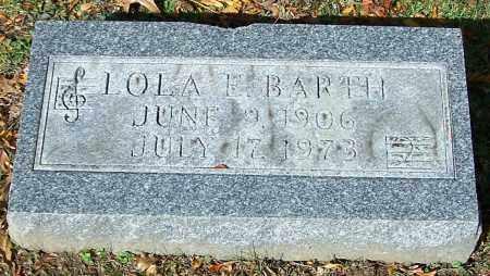 BARTH, LOLA E. - Stark County, Ohio | LOLA E. BARTH - Ohio Gravestone Photos