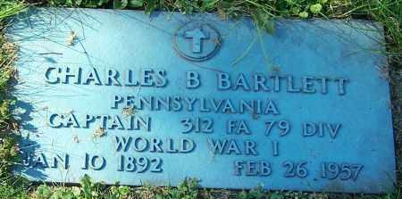 BARTLETT, CHARLES B. - Stark County, Ohio | CHARLES B. BARTLETT - Ohio Gravestone Photos