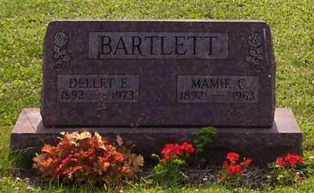 BARTLETT, DELLET E. - Stark County, Ohio | DELLET E. BARTLETT - Ohio Gravestone Photos
