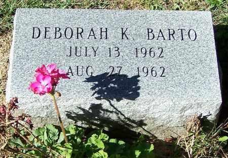 BARTO, DEBORAH K. - Stark County, Ohio | DEBORAH K. BARTO - Ohio Gravestone Photos