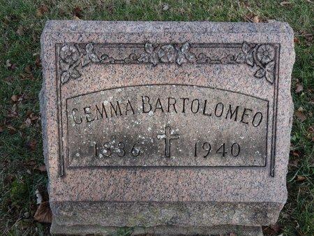 BARTOLOMEO, GEMMA - Stark County, Ohio | GEMMA BARTOLOMEO - Ohio Gravestone Photos